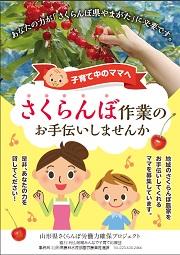 山形県さくらんぼ労働力確保プロジェクト(子育てママver.)